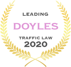 Doyles Traffic Banner Leading 2020